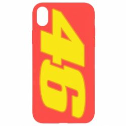 Чохол для iPhone XR 46 Valentino Rossi