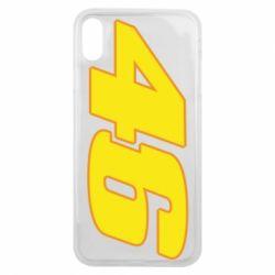 Чохол для iPhone Xs Max 46 Valentino Rossi