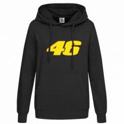 Женская толстовка 46 Valentino Rossi - FatLine