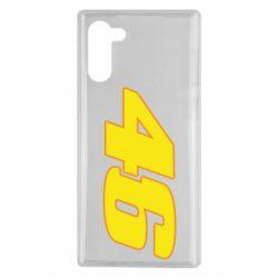 Чохол для Samsung Note 10 46 Valentino Rossi