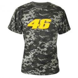 Камуфляжная футболка 46 Valentino Rossi - FatLine