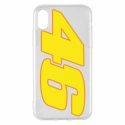 Чохол для iPhone X/Xs 46 Valentino Rossi
