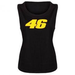 Женская майка 46 Valentino Rossi - FatLine