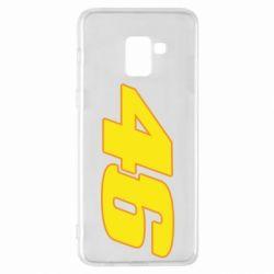 Чохол для Samsung A8+ 2018 46 Valentino Rossi