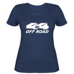 Женская футболка 4х4 Off Road