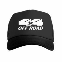 Кепка-тракер 4х4 Off Road