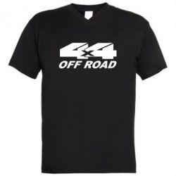 Мужская футболка  с V-образным вырезом 4х4 Off Road