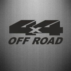 Наклейка 4х4 Off Road