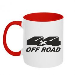 Кружка двухцветная 4х4 Off Road