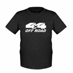 Детская футболка 4х4 Off Road