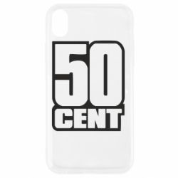 Чехол для iPhone XR 50 CENT