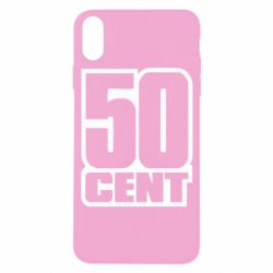 Чехол для iPhone X/Xs 50 CENT