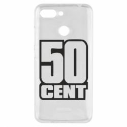 Чехол для Xiaomi Redmi 6 50 CENT - FatLine