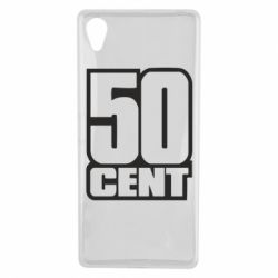 Чехол для Sony Xperia X 50 CENT - FatLine