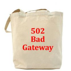 Сумка 502 Bad Gateway - FatLine