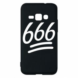 Чехол для Samsung J1 2016 666