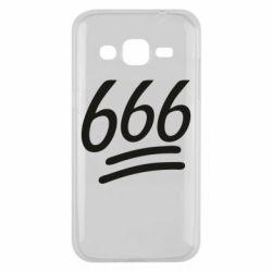 Чехол для Samsung J2 2015 666