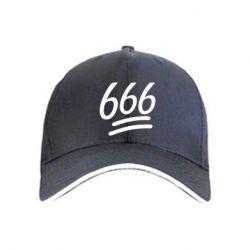 Кепка 666