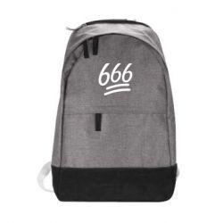 Городской рюкзак 666