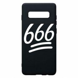 Чехол для Samsung S10+ 666