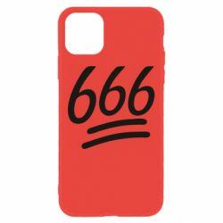Чехол для iPhone 11 666