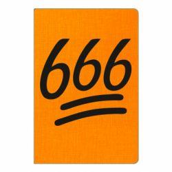 Блокнот А5 666