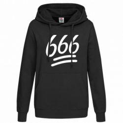 Женская толстовка 666