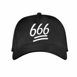 Детская кепка 666