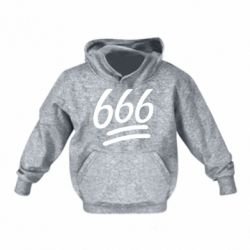 Детская толстовка 666