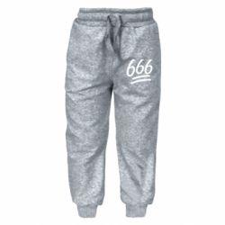 Детские штаны 666