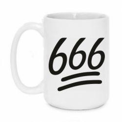 Кружка 420ml 666