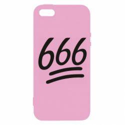 Чехол для iPhone5/5S/SE 666
