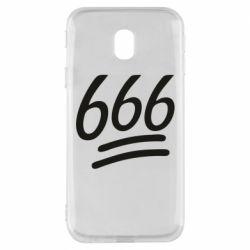 Чехол для Samsung J3 2017 666
