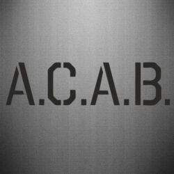 Наклейка A.C.A.B. - FatLine