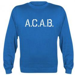 Реглан (свитшот) A.C.A.B. - FatLine