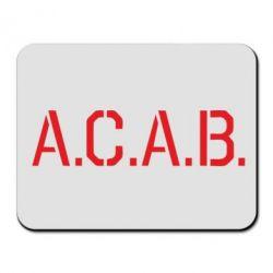 Коврик для мыши A.C.A.B. - FatLine