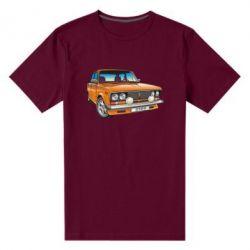 Мужская стрейчевая футболка A car