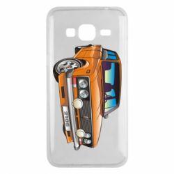 Чехол для Samsung J3 2016 A car