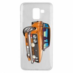 Чехол для Samsung J6 A car