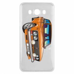 Чехол для Samsung J7 2016 A car