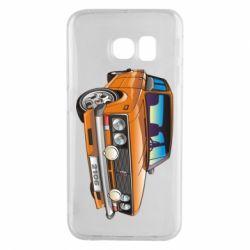Чехол для Samsung S6 EDGE A car