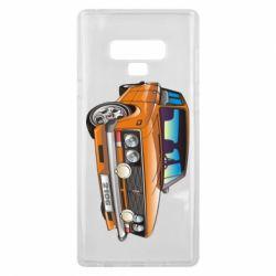 Чехол для Samsung Note 9 A car