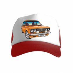 Детская кепка-тракер A car