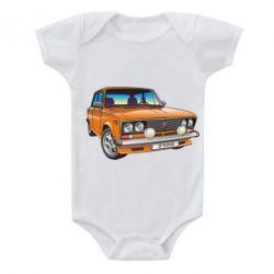 Детский бодик A car