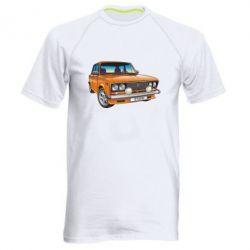 Мужская спортивная футболка A car