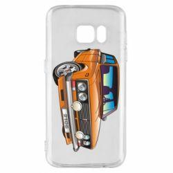 Чехол для Samsung S7 A car