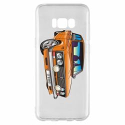Чехол для Samsung S8+ A car
