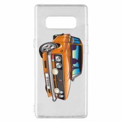 Чехол для Samsung Note 8 A car