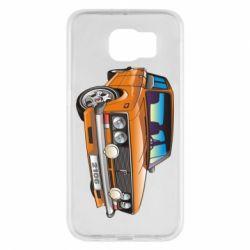 Чехол для Samsung S6 A car