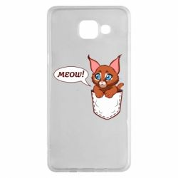 Чохол для Samsung A5 2016 A cat in his pocket